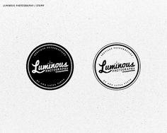Luminous Photography Logo - WRMSNFCTD | Creative Contagion #logo #stamp