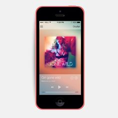 Spotify iOS7 (conceptual) on Behance #music #design #app #spotify
