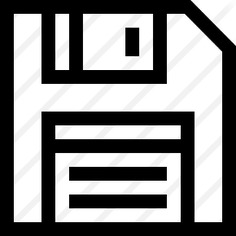 See more icon inspiration related to save file, flash disk, floppy disk, save, interface, multimedia, diskette and technology on Flaticon.