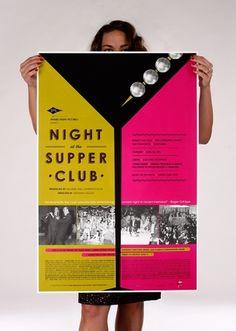 SFFS : Supper Club Poster #jason #san #rothman #poster #film #francisco #society #supper #club