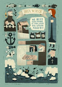 Sea Ways on Behance