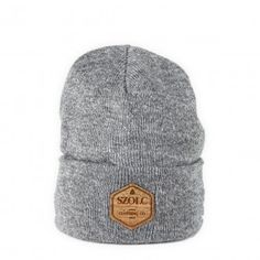 SZOLC Beanie #clothing #beanie #lifestyle #cork #retro #warm #minimal #logo #szolc #winter