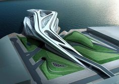 Abu Dhabi Performing Arts Centre - Architecture - Zaha Hadid Architects #architecture