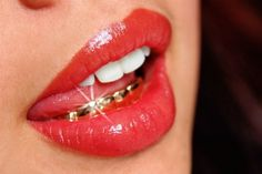 YIMMY'S YAYO™ #mouth #lips #lipstick #gold teeth