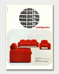 Minimalism and Modernism » Swank Advertising / Aqua-Velvet #modernism #furniture #advertisement #minimalism