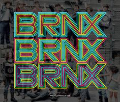 BRNX #bronx #typography #colors