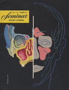Seminar Magazine, November 1945 Cover #cover #illustration #vintage #science #magazine