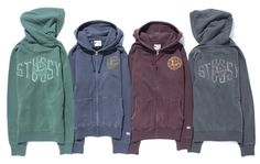 "STUSSY x CHAMPION ""Rochester Collection"" : STUSSY JAPAN OFFICIAL SITE #stussy #hoodies #print #type #hypebeast"