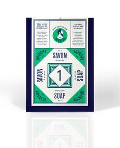 Atelier Müesli - Le baigneur #packaging #soap