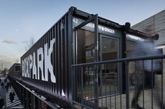 boxpark . commercial complex by StudioMakgill