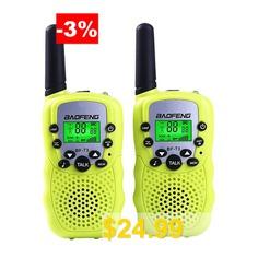 BaoFeng #BF-T3 #2pcs #Walkie #Talkie #Mini #Radio #2W #UHF #462-467MHz #Convenience #Children #Two #Way #Radio