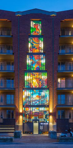 Stained Glass Facades