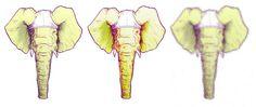 Variations sur Éléphant àSlip #elephant #underpants