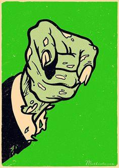 Zombiecracy #art
