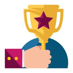 See more icon inspiration related to award, champion, cup, trophy, winner and sports and competition on Flaticon.