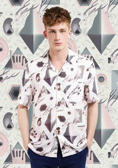 It's Nice That : ASOS and It's Nice That: Hawaiian Shirts #pattern #shirts