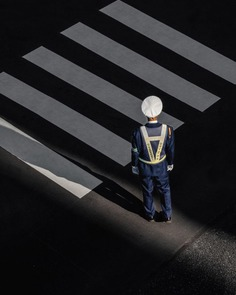Striking Street Photography in Tokyo by Ben Richards