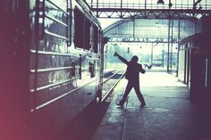Some Pictures on the Behance Network #train #photo #color