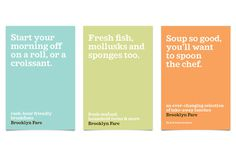Brooklyn Fare #branding