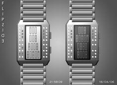Flipside Watch #design #futuristic #gadget #industrial #concept #art