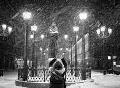Winter is Coming: Snowy Russian Street Photography by Chris Retro