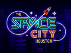 Houston - Space City #radio #houston #illustration