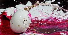 Eye-Popping Photos Capture Splattered Eggs Frozen in Time | Co.Design #glitter #smash #eggs #photography #cracked #neon