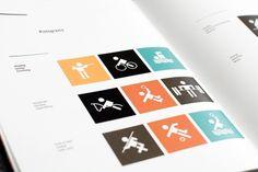 Fortaleza 2020 spreads : Guilherme #fortaleza #system #identity #pictograms #olympics #brazil