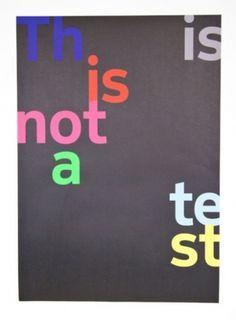 DesignStudio—Nokia Pure #maag #nokia #poster #pure #practise #dalton #typography