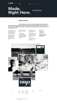 www.grafik.co.nz #websites #website #grid #minimal #layout