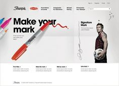 Sam Dallyn - Sharpie - Website #website