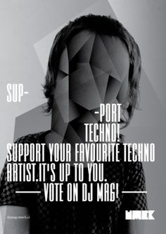 Dj Mag 10 | vbg.si - creative design studio #white #black #poster #and #music