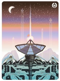 http://solo71.tumblr.com/ #poster #vector #science fiction #robots