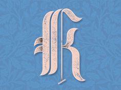 Classic K Letter!  More letterings:  www.instagram.com/medinaoscar  www.Medinaoscar.tumblr.com  Enjoy!