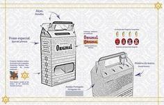 Projeto de Embalagem; Packaging Design. on Behance #Packing #Embalagem #Beer #Print #Concept