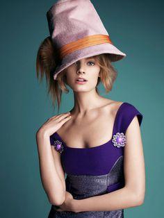 Constance Jablonski by Victor Demarchelier for Harpers Bazaar Australia