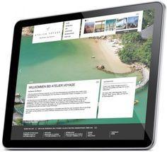 Die neue Atelier Voyage Website #idcode #atelier #voyage #frick #michael