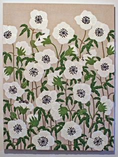 Yumiko Higuchi #embroidery #pattern #floral
