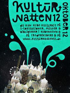Michelle Carlslund Kulturnatten12 Copenhagen #urban #smoke #nordic #city #danish #night #tivoli #stars #scandinavian #kulturnat #party