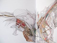 20091231_nigelpeake_zines_0011.jpg (Image JPEG, 450x338 pixels) #illustration #drawing