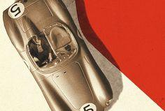 Jonas Bergstrand #red #retro #photography #vintage #car