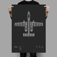 A-10 Thunderbolt II screen print