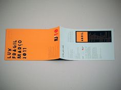 Flickr: Your Photostream #luxfragil #flyer #design #alva #typography