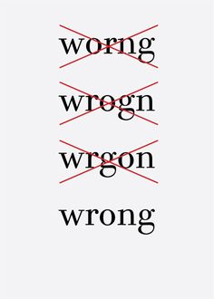 Wrong - Dennis Andrianopoulos #design #graphic #typography