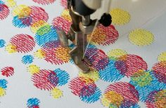 Pattern Pulp - Stitching Your Posters and Pillows #stitching #poster