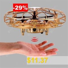 Mini #Flying #UFO #Ball #LED #Induction #Suspension #Aircraft #Flying #Toys #Hand-held #Inductive #Flying #Toy