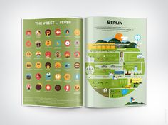 Inforama. Das Infografik Magazin #infographics #print #infographic #illustration #magazine