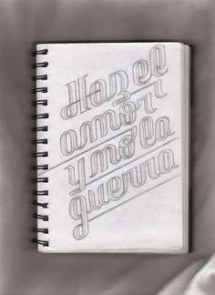 d88bc86f611069bb6ab5bc7cc4001daf.jpg (950×1307) #sketching #typography