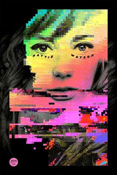 andytran_Hattie #digital #color #poster