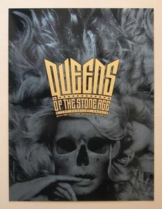 Queens of the Stone Age #design #graphic #poster #typography